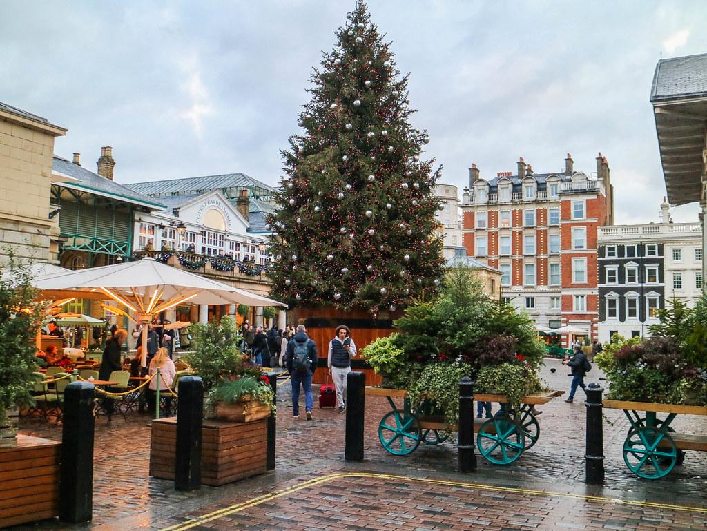 Arbol de navidad en Covent Garden