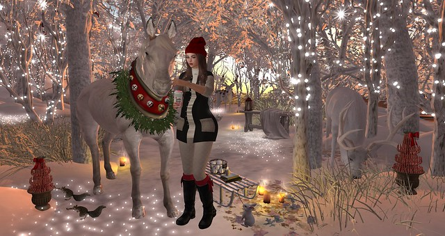 giddy-up jingle bell horse