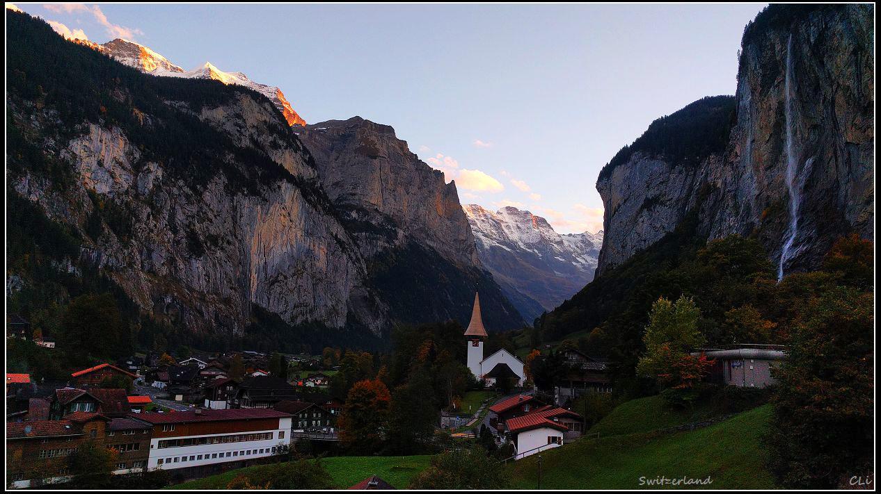秋游欧洲5瑞士 雪朗峰旋转餐厅把酒欣赏少女峰