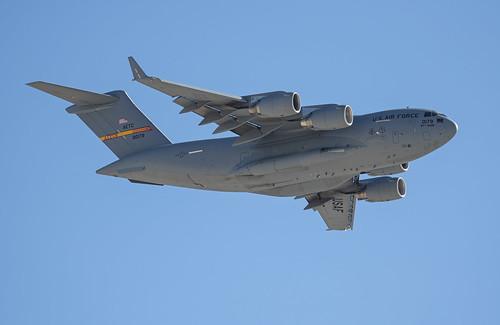 Boeing C-17 at Nellis AFB
