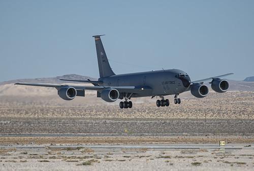 Boeing KC-135 Landing