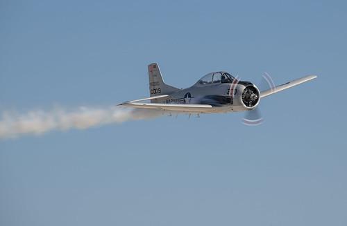T-28 Trailing Smoke
