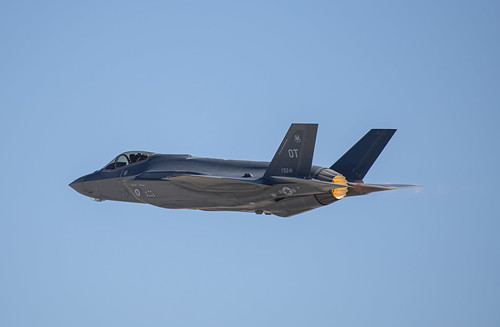 F-35A of the 422nd Squadron