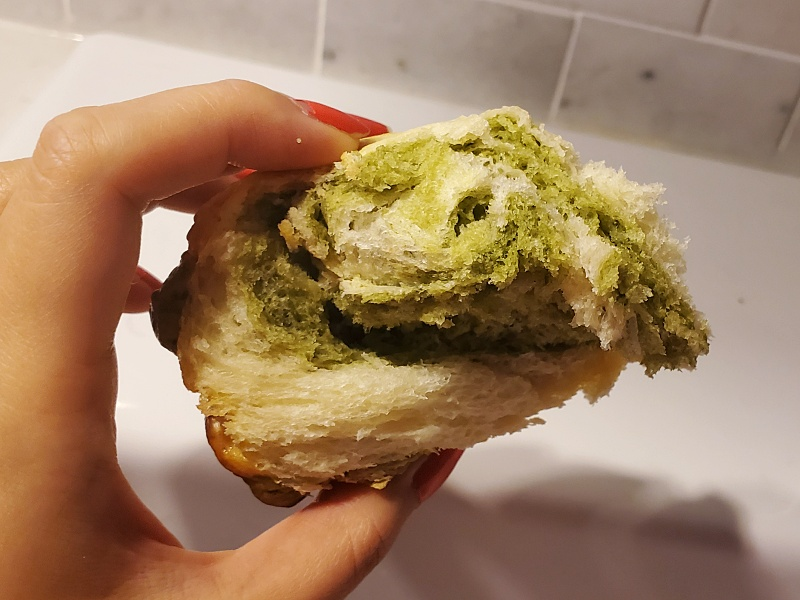 matcha bread