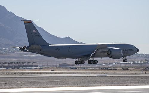 Boeing KC-135 Over the Runway