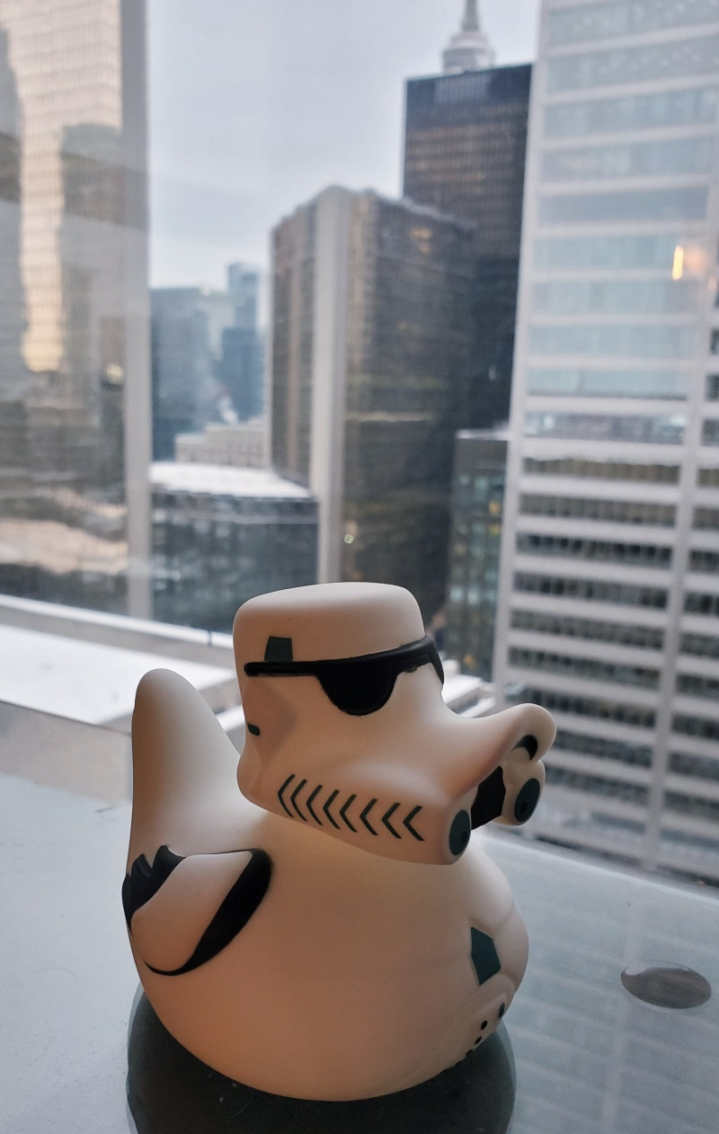 pondtrooper star wars rubber duck