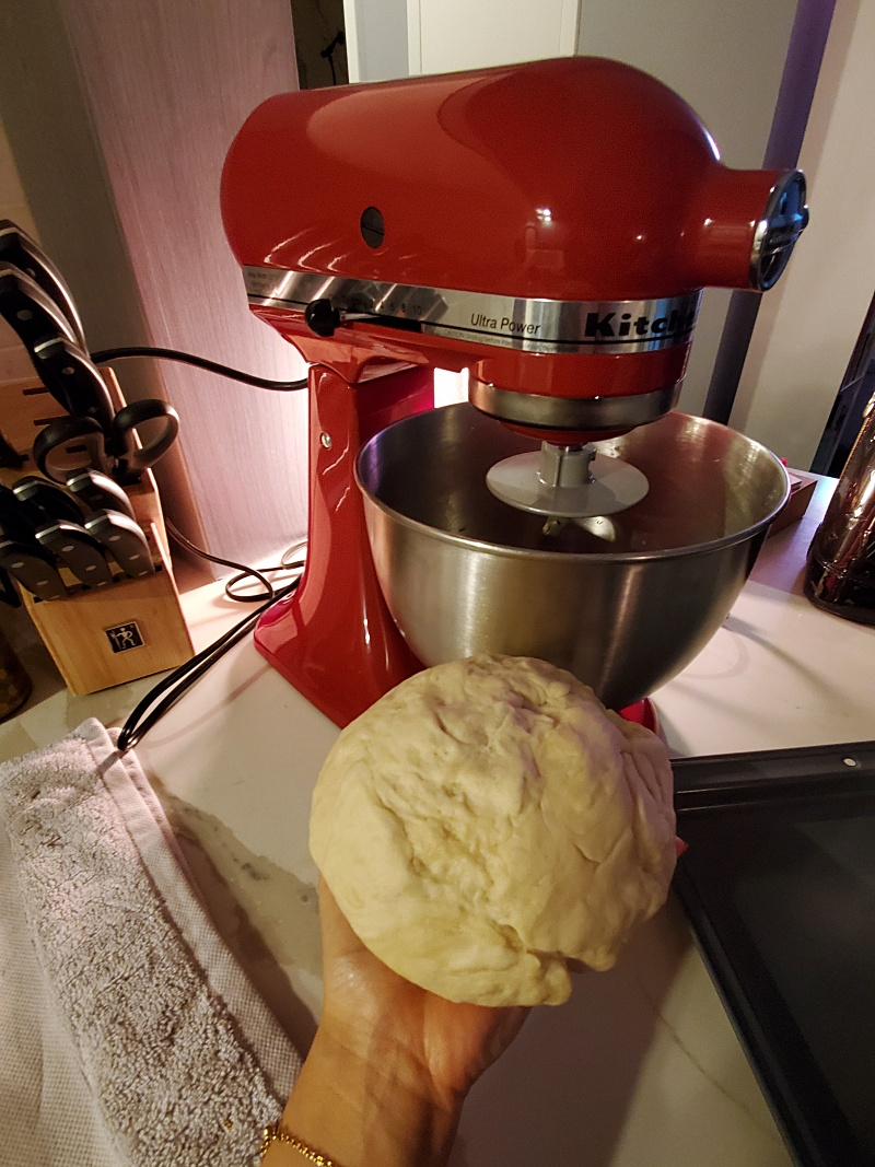Kitchenaid Mixer dough