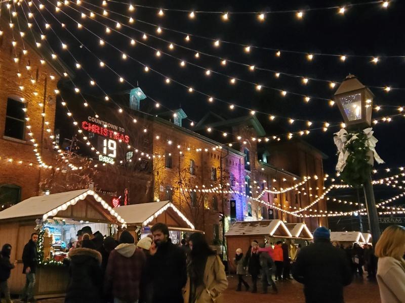 Distillery Christmas Market