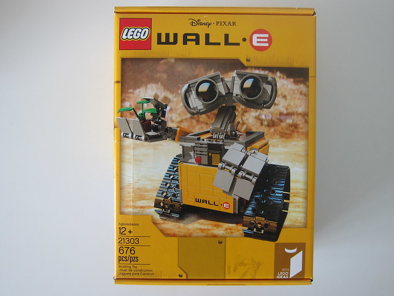 LEGO IDEAS Wall-E 21303 - Box Front