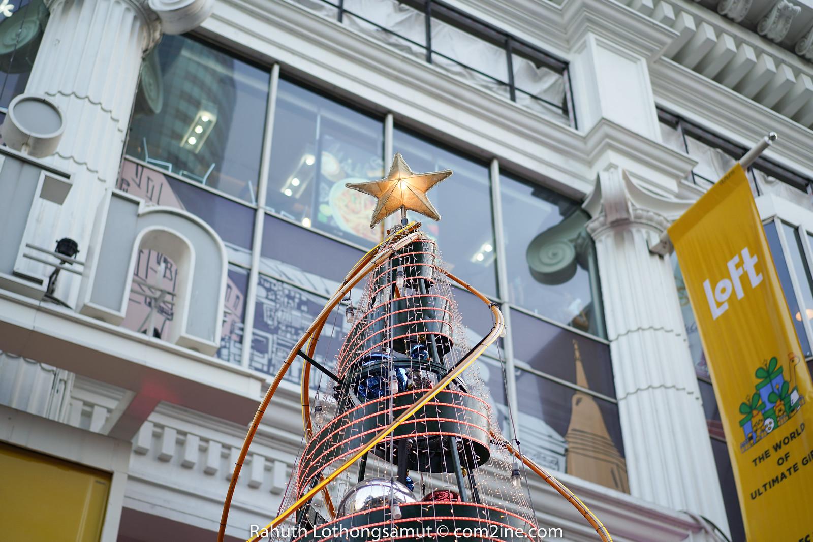ถ่ายไฟคริสต์มาส ถ่ายไฟปีใหม่ 2020 - Amarin Plaza อัมรินทร์
