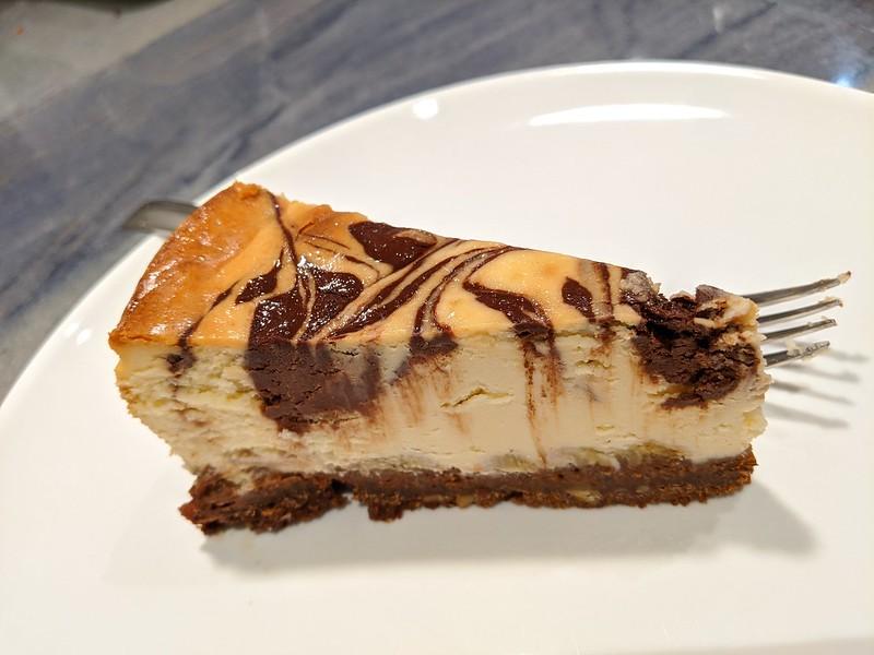 Chocolate Banana Ripple Cheesecake