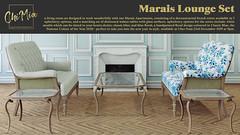 Marais Lounge Set at Uber Event