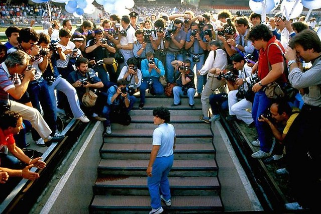 "The movie poster & stills of the record film "" Diego Maradona "" launching on Dec 20, Taiwan"