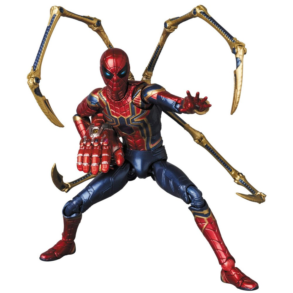 """Activates Instant Kill"" MAFEX《復仇者聯盟:終局之戰》鋼鐵蜘蛛 マフェックス No.121 MAFEX IRON SPIDER (ENDGAME Ver.)"