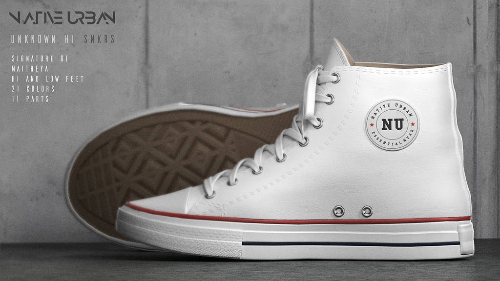 NATIVE URBAN – Unknown Hi Sneakers