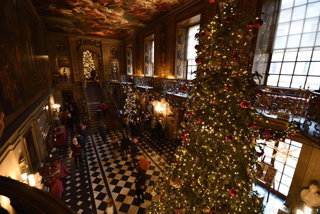 Painted Hall Christmas Tree