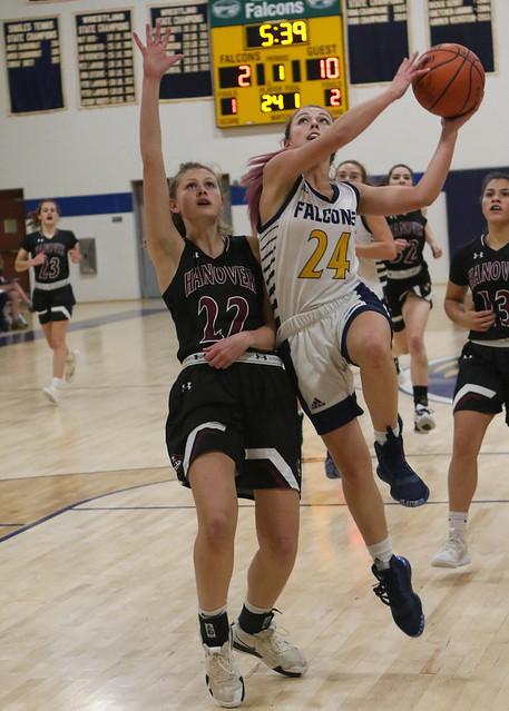 Bow v Hanover Girls Basketball