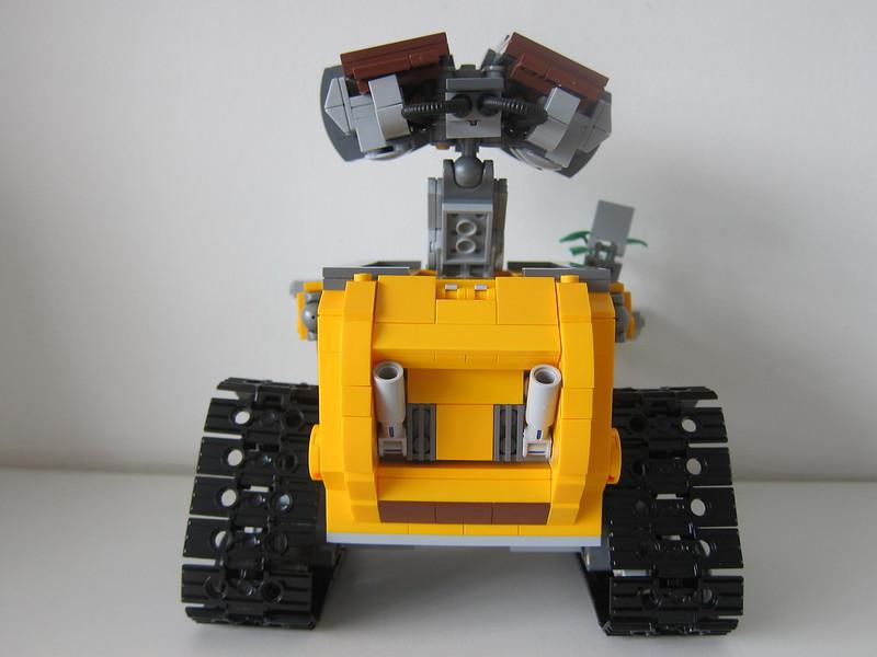 LEGO IDEAS Wall-E 21303 - Back