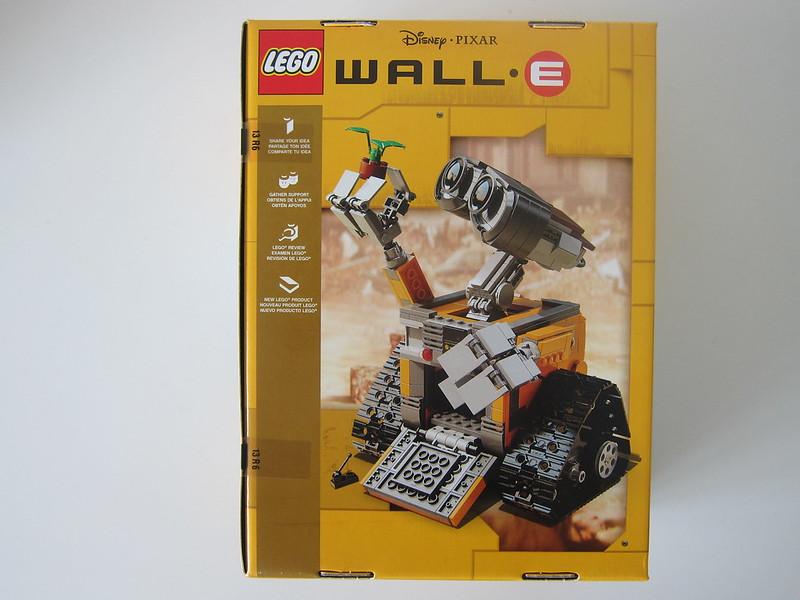 LEGO IDEAS Wall-E 21303 - Box Back