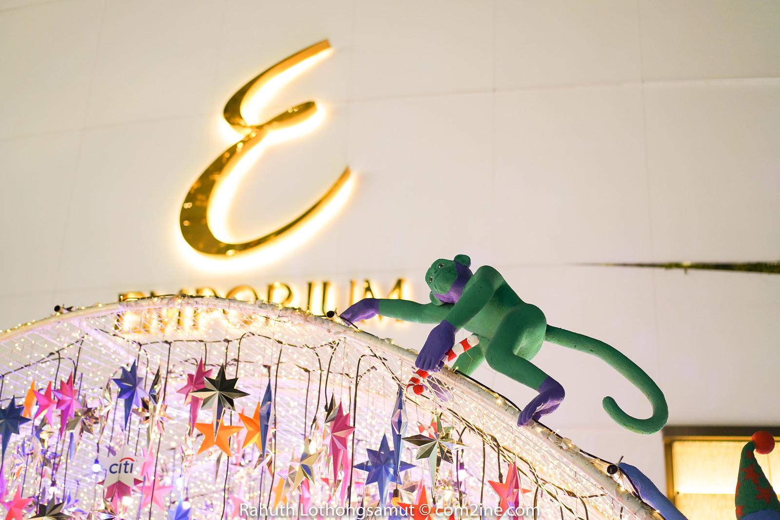 ทางเข้า ถ่ายไฟคริสต์มาส ถ่ายไฟปีใหม่ 2020 - Emporium Emquartier เอ็มโพเรี่ยม