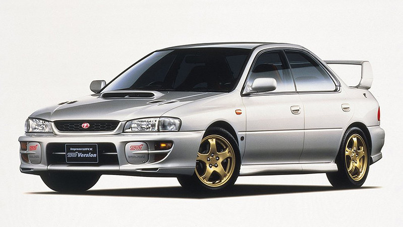 4 Subaru Impreza WRX STi Version V (GC8F4ED) '1998–99