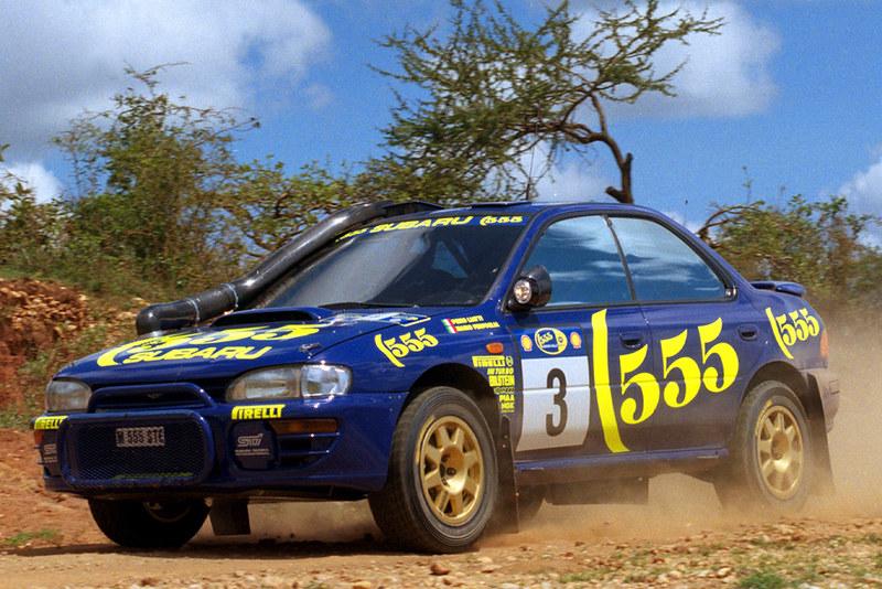 9 Subaru Impreza WRC (GC) '1993–96