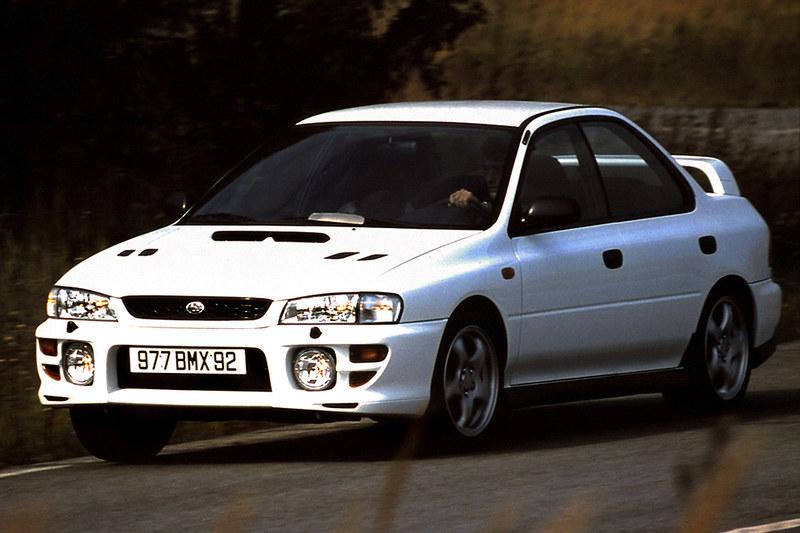 9 Subaru Impreza 2.0 GT Turbo AWD '1996–97