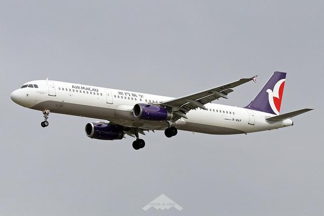 B-MAP  -  Airbus A321-231  -  Air Macau  -  ICN/RKSI 5/10/19