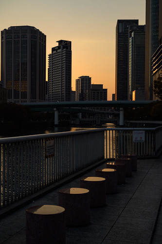 大阪市 大阪府 japan 夕景 sunset 建築物 architecture