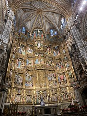 Retablo de la capilla mayor