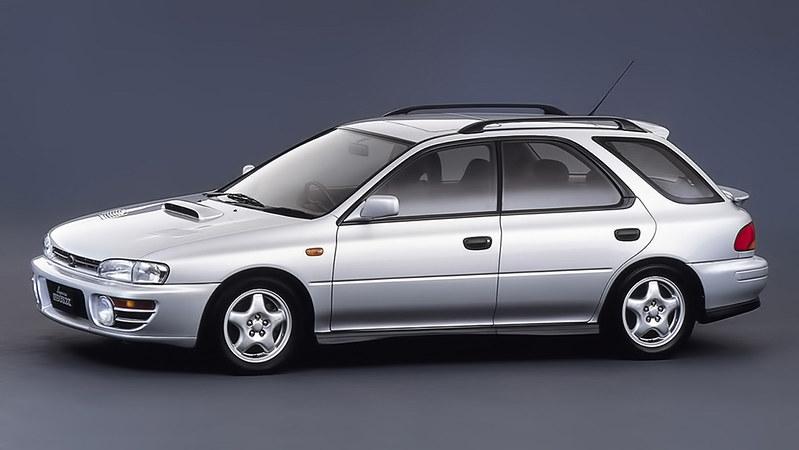 4 Subaru Impreza WRX Wagon (GF8) '1992–96