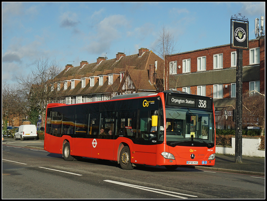 Go-Ahead MEC64, Bromley