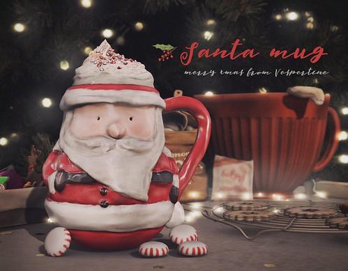 santa hot chocolate mug - group gifty