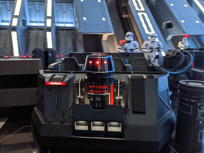 Droid, First Order Destroyer, Rise of the Resistance, Galaxy's Edge, Disney Hollywood Studios, Walt Disney World, Lake Buena Vista, Florida, USA.jpg