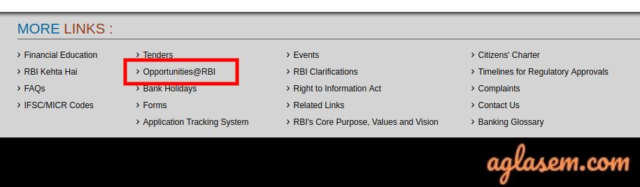 RBI Admit Card