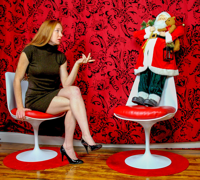 Trying to Reason with Santa.  Jessica Bledsoe-256