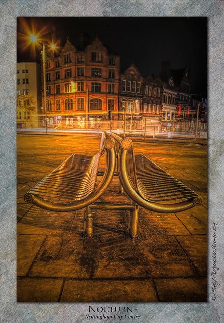 Nocturne : Nottingham by Night