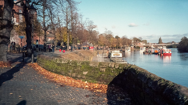 Film: River Dee, Chester.