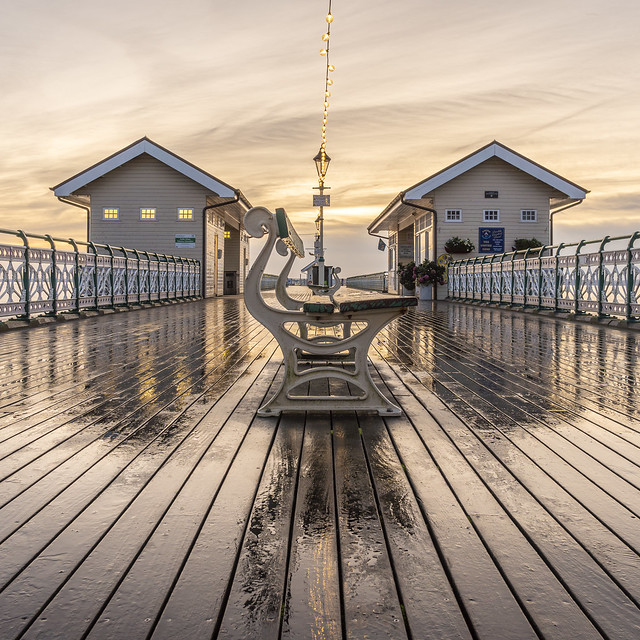 Wet Pier Reflections