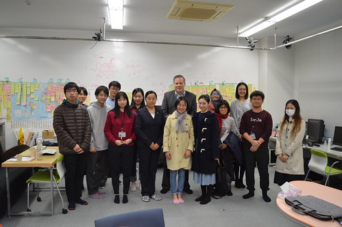 Sony company visited CHEC