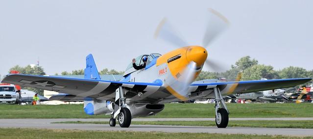 1AA_8670  1945 North American P51D Mustang Military serial 44-75007 USAF serial number 4475007 Registration Number N3451D Called Paul 1