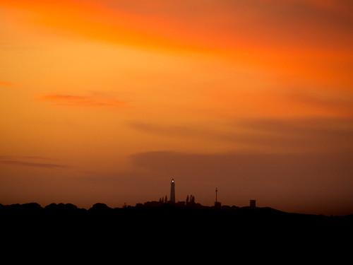 rottnestisland perth westernaustralia wa australia landscape outdoor sky sunset yellow sun twilight dusk evening silhouette longlenslandscape travel simple nature colour color olympusem10 olympusomd olympus lumix microfourthirds island orange vibrant skyline