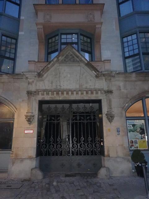 1894 Berlin Portal Büro- und Geschäftshaus Rosenstraße 16-19 von Otto March/Heinrich Kayser/Karl von Großheim in 10178 Mitte