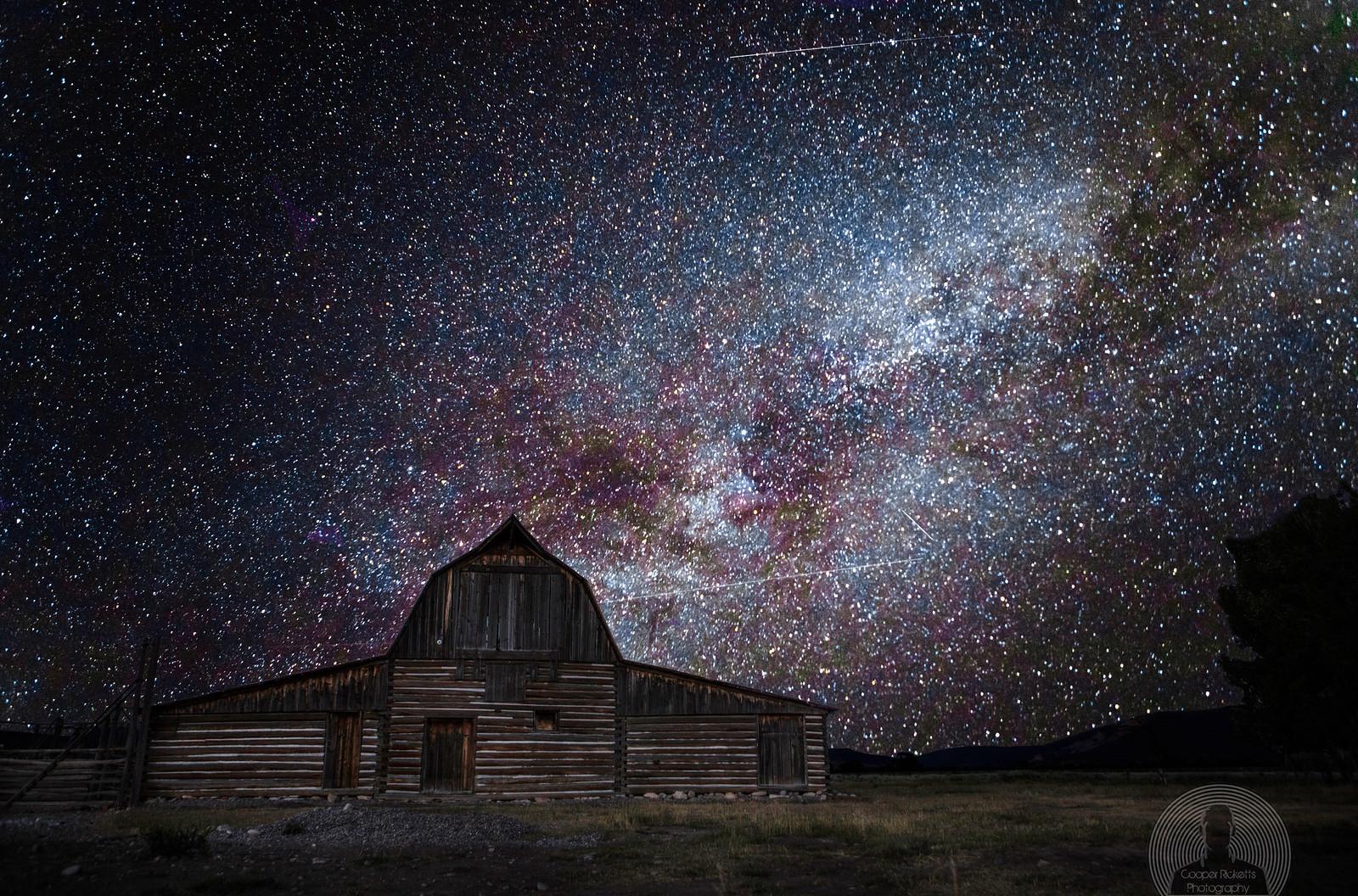 T.A. Molton Barn & Milky Way