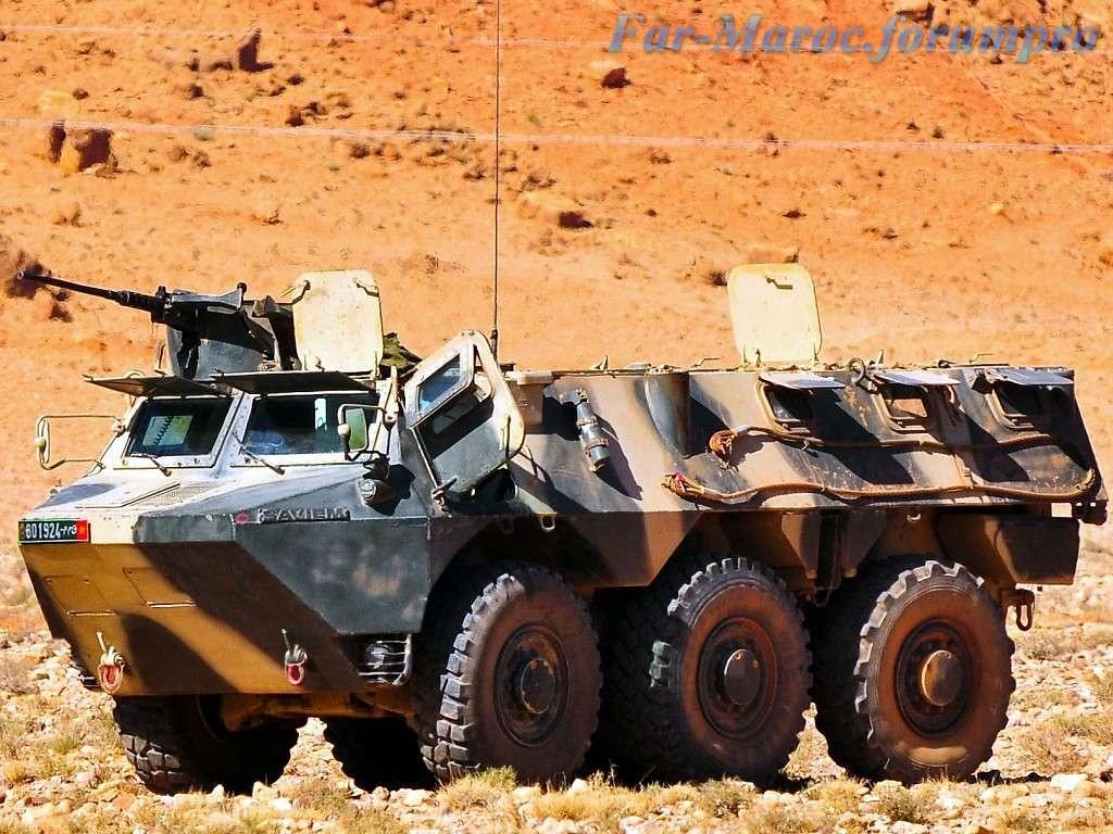 Renault VAB VTT et VCI des Forces Armées Royales 49268743073_ae280ce407_b