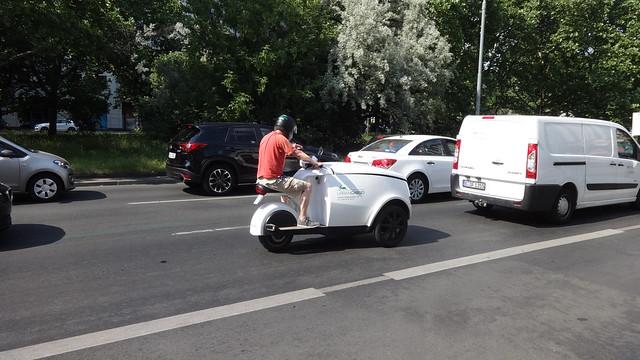 ab 2017 dreirädriges Elektromobil TRIPL von Govecs/EWii mobility in Kolding/Dänemark An der Urania in 10787 Berlin-Schöneberg