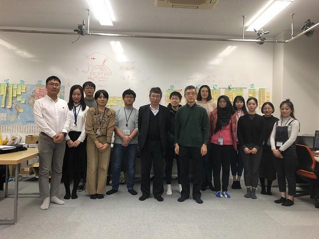 Prof. Nakagawa visited CHEC