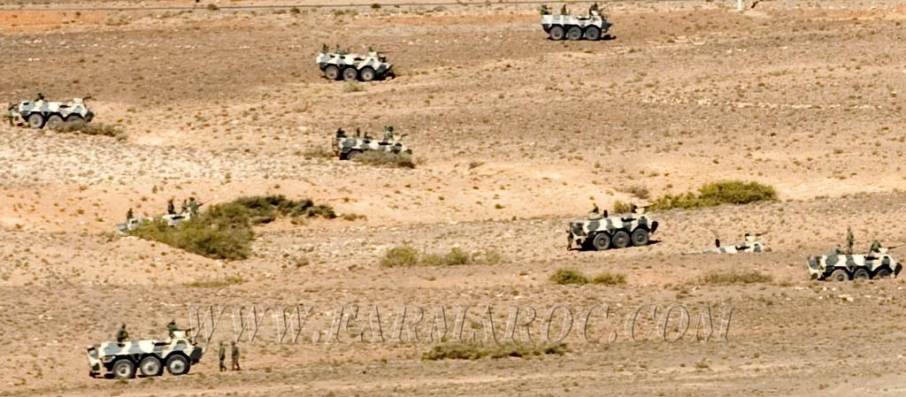 Renault VAB VTT et VCI des Forces Armées Royales 49269204041_da656eff13_b