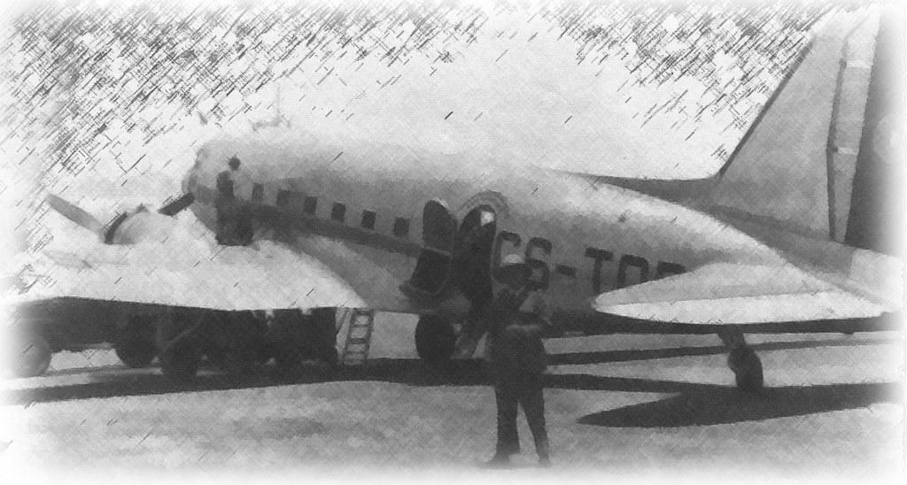 Dc-3 Dakota, Villa Cisneros (A. n/id., 1947)