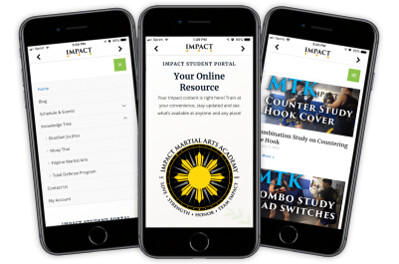 Impact student portal